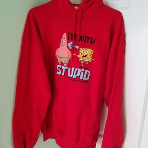 Mens size Large Spongebob hoodie